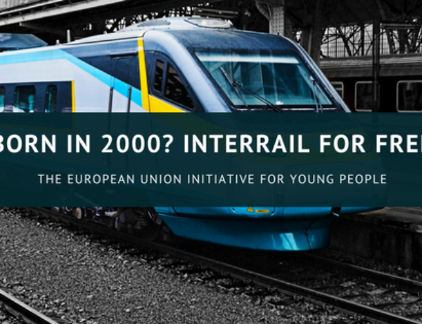 Born in 2000? Interrail for free