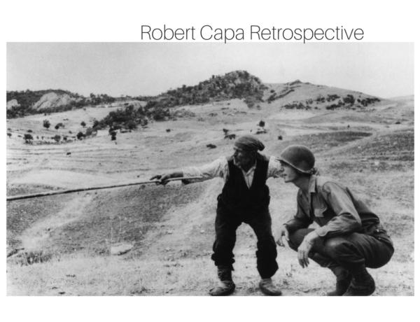 Robert Capa Retrospective, exhibition in Palermo