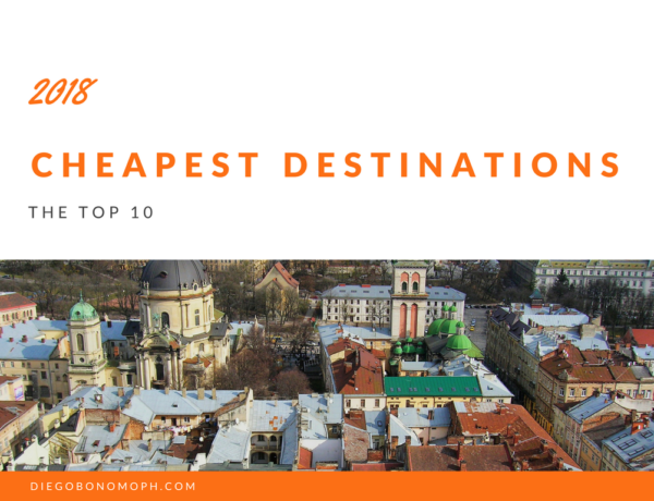 Cheapest destinations, the top 10 2018