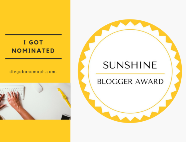 Sunshine Blogger Award, I got nominated