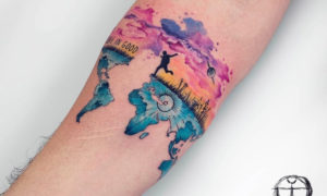 Travel tattoos, some ideas for you